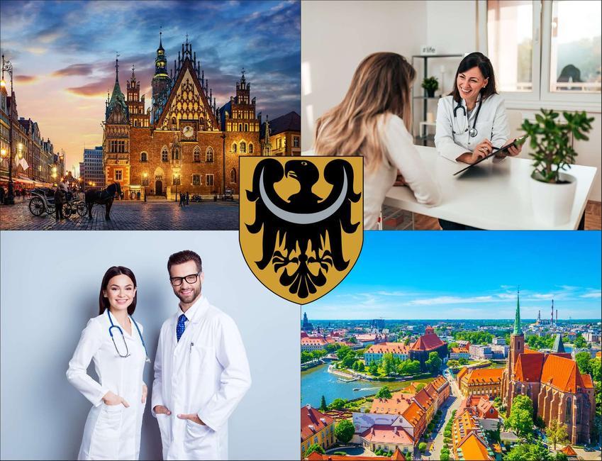Wrocław - cennik prywatnych wizyt u laryngologa - sprawdź lokalne ceny w poradniach