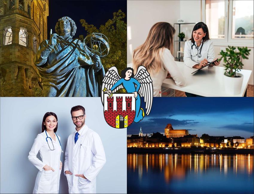 Toruń - cennik prywatnych wizyt u laryngologa - sprawdź lokalne ceny w poradniach