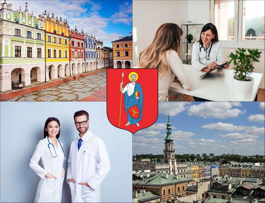 Zamość - cennik prywatnych wizyt u laryngologa - sprawdź lokalne ceny w poradniach