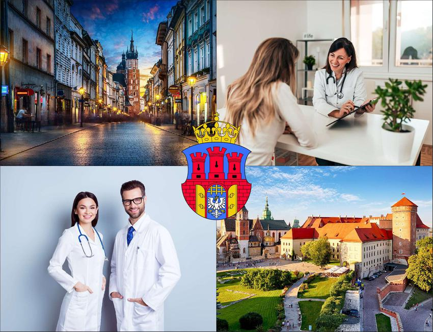 Kraków - cennik prywatnych wizyt u laryngologa - sprawdź lokalne ceny w poradniach