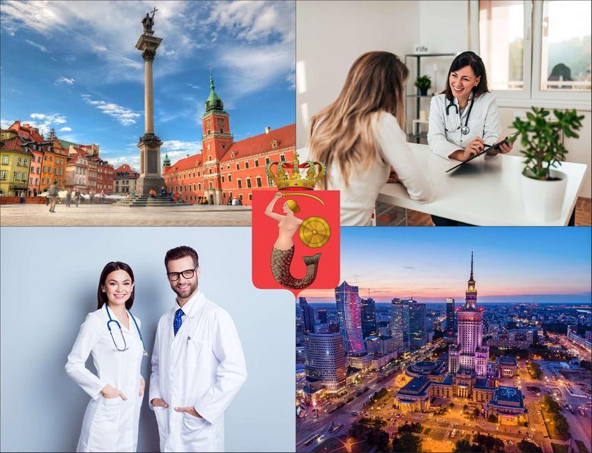 Warszawa - cennik prywatnych wizyt u laryngologa - sprawdź lokalne ceny w poradniach