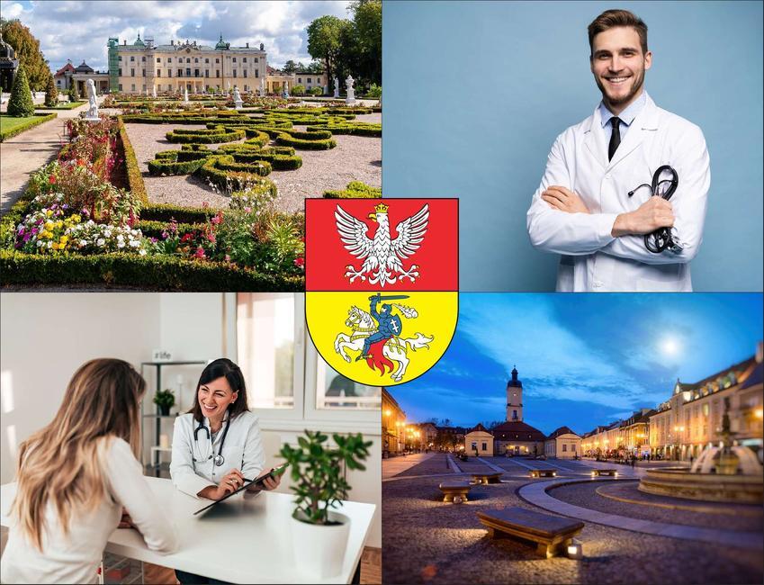 Białystok - cennik prywatnych wizyt u okulisty - sprawdź lokalne ceny optyków