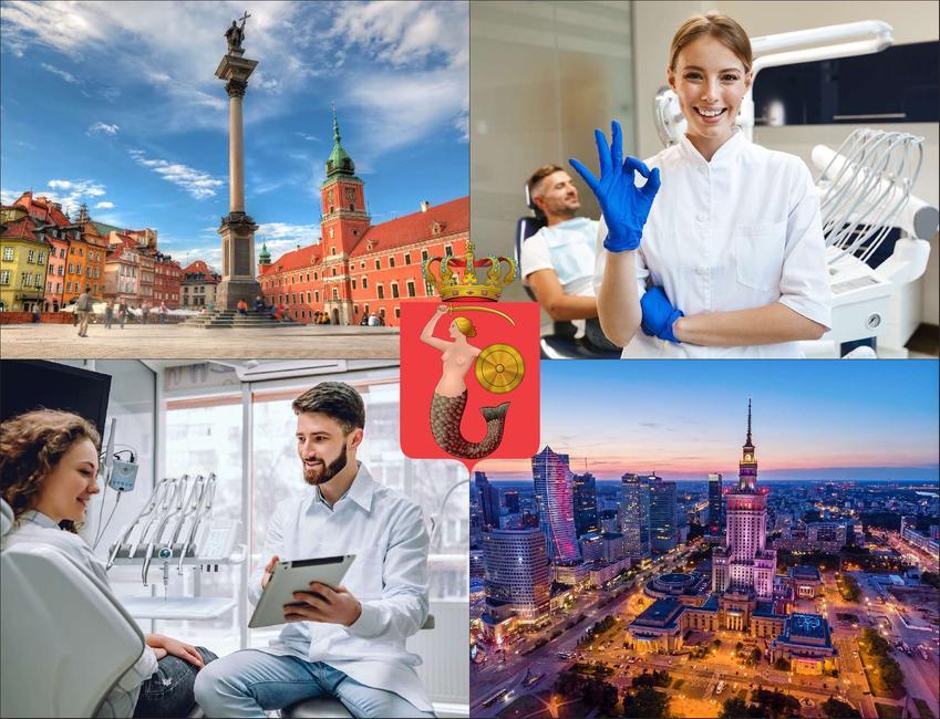 Warszawa - cennik chirurgów szczękowych - sprawdź lokalne ceny u chirurgów stomatologów