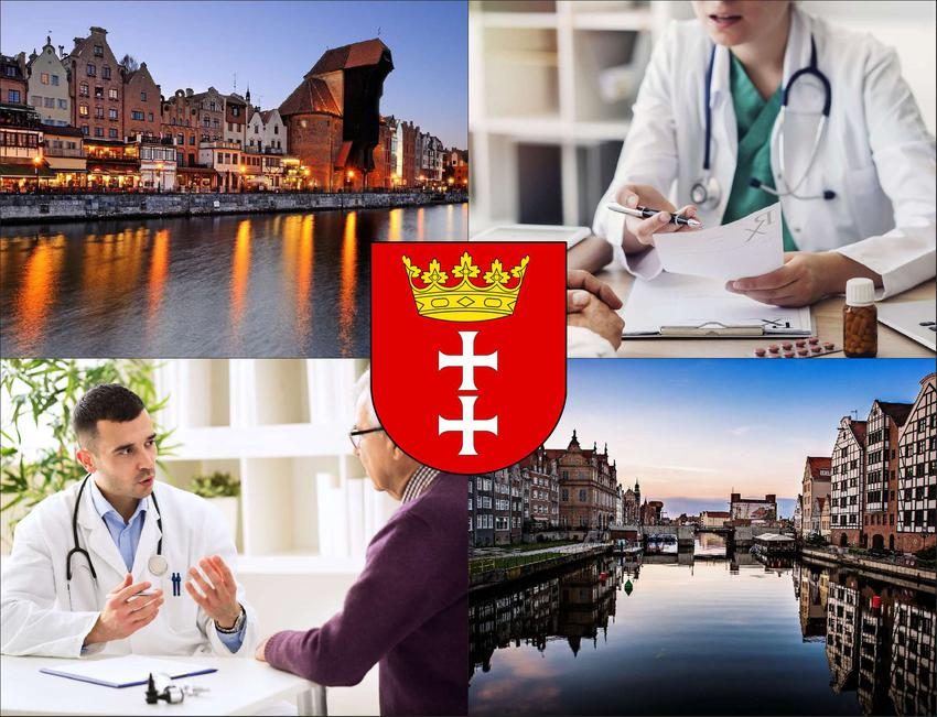 Gdańsk - cennik prywatnych wizyt u radiologa - sprawdź lokalne ceny badań usg
