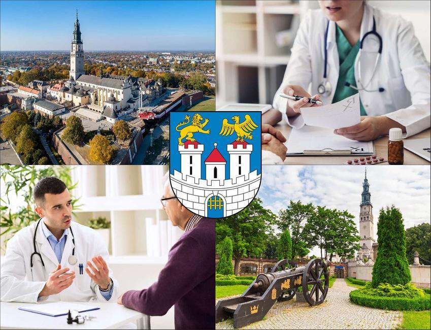 Częstochowa - cennik prywatnych wizyt u radiologa - sprawdź lokalne ceny badań usg