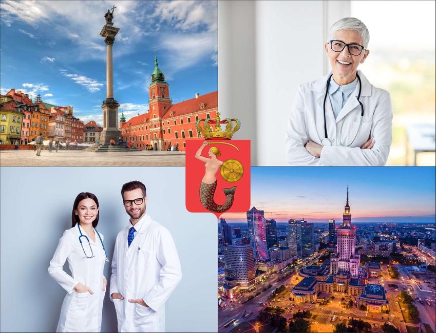 Warszawa - cennik prywatnych wizyt u hipertensjologa - sprawdź lokalne ceny