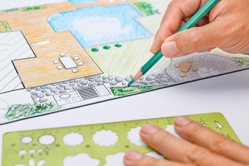 Uśredniony koszt wykonania pełnego projektu ogrodu o powierzchni do 500 m2,
