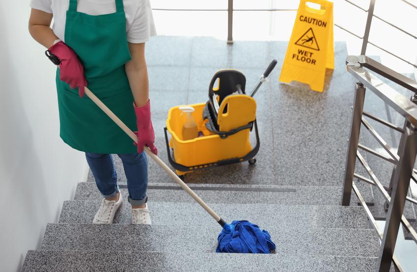 Kompleksowa usługa sprzątania klatek schodowych. Usługa jednorazowa