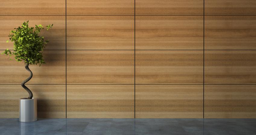 Uśredniony koszt ułożenia paneli ściennych. Panele ułożone na uprzednio przygotowanym, równym podłożu. Normalny stopień skomplikowania prac. Brak konieczności docinania pod nietypowe kształty.