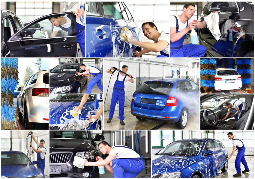 Uśredniona cena mycia auta osobowego. Mycie ręczne wraz z nakładaniem wosku.