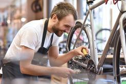 Cena sprawdzania geometrii ramy rowerowej w ponad 160 miastach w Polsce