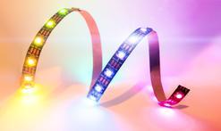 Cennik sufitów podwieszanych LED - montaż taśmy jedno- lub wielokolorowej