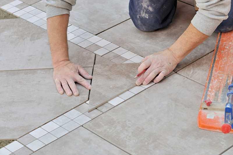 Виды методов укладки плитки